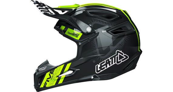 Leatt Brace DBX 5.0 Composite Helmet black/yellow